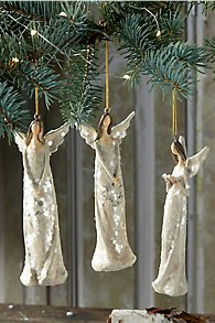 Angel Ornament Set