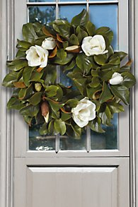 Magnolia Wreath I
