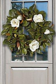 Magnolia Wreath I