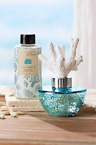 At Home Beach House Fragrance Diffuser & Refill Set
