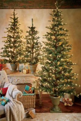Small Prelit Christmas Trees