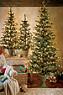 Flat Holiday Prelit Tree Photo