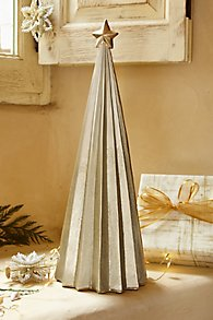 Fluted Metallic Ombre Tree