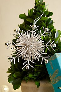 Bristle Snowflake Ornament