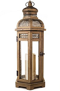 Lattice Dome Flameless Candle Lantern