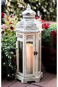 Lattice Dome Flameless Candle Lantern