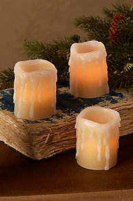 Fabulous Flameless Candle Set of 3 Votives