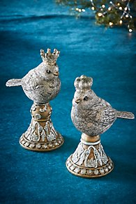 Bird with Crown on Pedestal