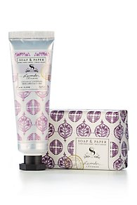 Soap & Paper Shea Butter Hand Cream & Soap Set