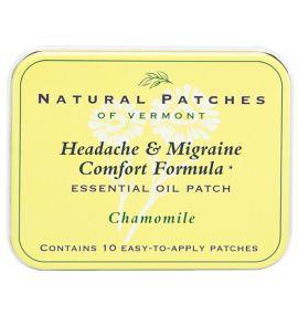 Natural Patches Headache & Migraine Control Formula