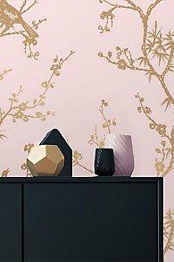 Bird Watching Self-Adhesive Wallpaper