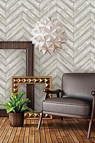 Herringbone Self-Adhesive Wallpaper