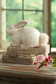 Cottontail Ceramic Bunny