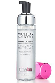 Minetan Micellar Tan Water Everyday Glow Gradual Self Tan