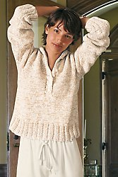 Hooded Cotton Sweater