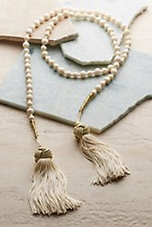 Madonna Tasseled Necklace