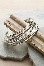 Holly Hammered Bracelets