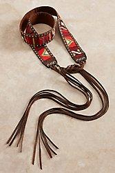 Tapestry Tie Belt