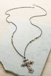 Dorothy Cross Necklace