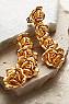 Rose De Provence Clip Earrings Photo