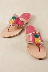 Jack Rogers Pineapple Sandals