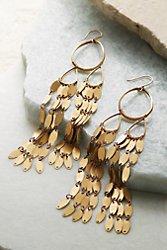 Teardrop Waterfall Earrings