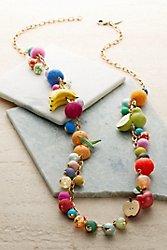 Fruit Basket Necklace
