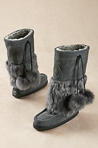 Manitobah Faux Fur Mukluks