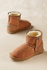 Emu Indigenous Cozy Booties