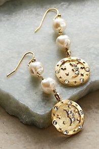 Lune et Étoiles Earrings
