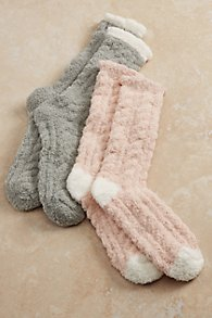 Cozy Cable Socks