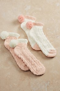 Cozy PomPom Socks