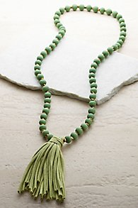 Tropical Tassel Necklace