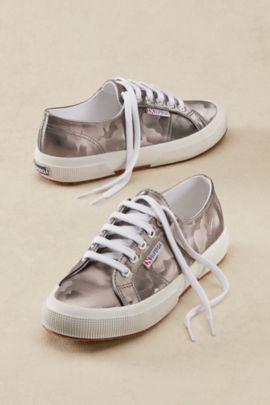 Superga Camo Metallic Sneakers