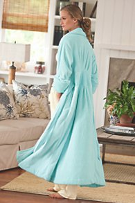 Floor Length Chenille Robe