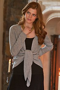 Cashmere Wrap Sweater