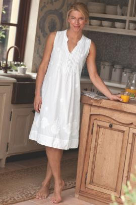Womens Cotton Nightgown