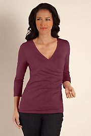 34_Sleeve_Shapely_Surplice_Top_I