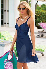 Sarong Swimsuit By Carol Wior