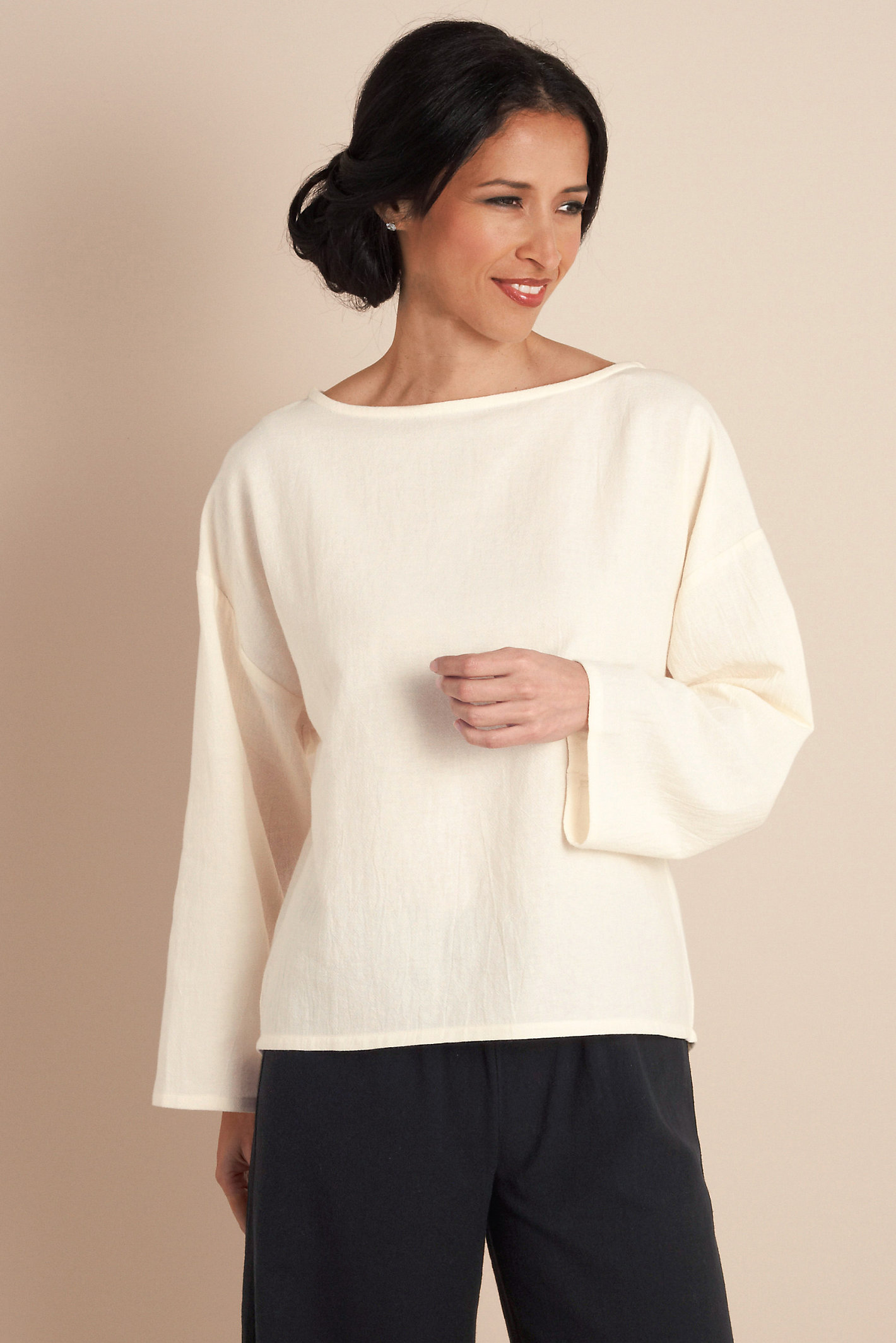 Gauze Pullover