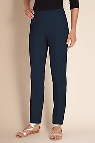 Womens Stretch Knit Pants