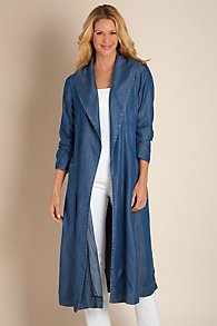 Terrific Tencel Duster