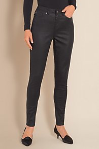 Womens Metallic Jeans