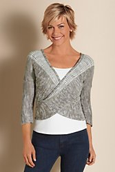 Wraparound Sweater