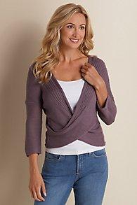 Wraparound Sweater