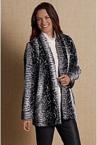 Francesca Faux Fur Coat