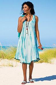 Womens Tie-Dye Dress