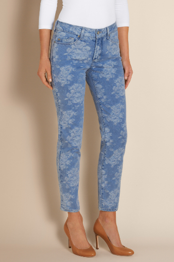 NOT YOUR DAUGHTER'S JEANS ALISHA FITTED ANKLE JEAN