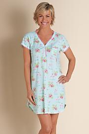 Flamingo_Florals_Sleepshirt