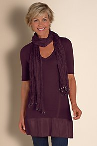 Lightweight Sweater and Scarf